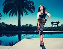 Advertising Campaign LUBLU Kira Plastinina SS 2013