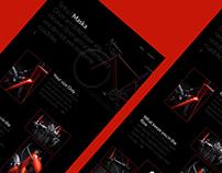 Bike web - redesign