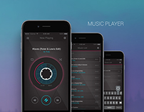 UX/UI Music Player App