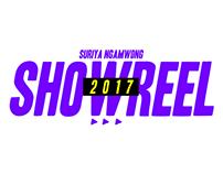 SHOWREEL SURIYA 2017