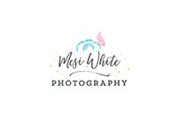 Mesi White Logo