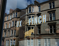 Ox and Finch Restaurant Branding