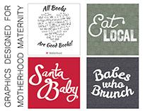Motherhood Maternity Graphics