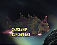 Concept Art Spaceships
