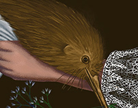 LOVE KIWI BIRD