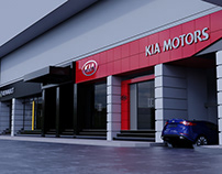 KIA & Renault car showrooms