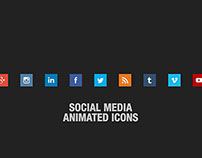Social Media Animated Icons - Assets for Video