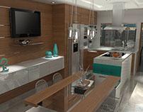 12/2014 Diseño Interior Cocina/ Interior Design Kitchen