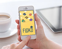 Flokd App Icons Design
