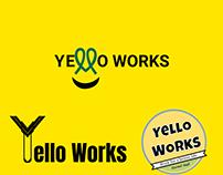 Yello Works Logo Design