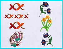 Fantastic Flower Embroidery Designs