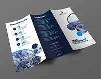 Business tryfold brochure