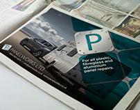 Panelworks Newspaper Advert