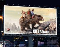 2019 Billboard Mockup Free