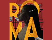 ROMA alternative poster art.