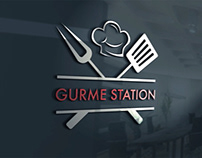Gurme Station Logo Tasarım