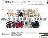 Urban Village - Imobiliário - Print