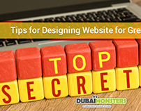 Secret Tips for Designing Website for Greater Visibilit