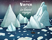Victor. The big trip. Children book