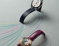 Grazia, jewelry and watch editorials