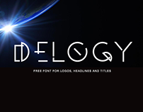 DELOGY - FREE DISPLAY FONT