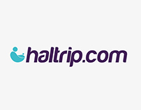 Logo design and branding for Haltrip