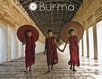 Tourist Office Campaign Book & Dust Jacket: Burma
