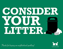 Consider Your Litter Cleanup Campaign