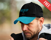 Cap – Free PSD Mockup