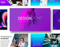 Free PowerPoint Template DesignLight