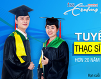 VNP -  Banner tuyển sinh trên ueh.edu.vn - 2015
