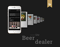 Beer dealer website