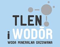 Tlen i Wodór - mineral water logo and label