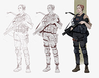 Character designs 2018