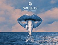 SOCIETY PIZZA E PESCE - Brand Identity