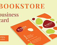 Bookstore Business Card Template