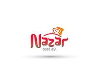 Nazar Tost Evi logo çalışması