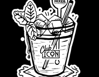Tee Print for Mister Mixer x Club Icon