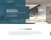 Capital Basements WordPress Design/Build