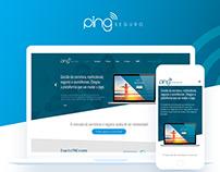 Ping Seguro | Identidade e Website