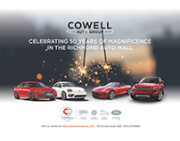 Cowell Auto Group - Celebrating 50 years of service