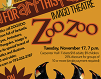 Irving Arts Center ZooZoo Performance Ad