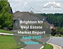 Brighton NY Real Estate Market Report April '17 Edition