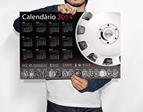 Calendário 2014 - Noova High Performance Wheels