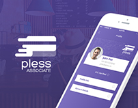 Pless Associate UI Design