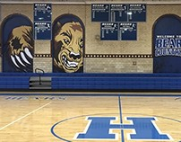 Hawthorne High School | Gym Graphics