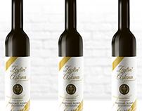 Zeytin Aşkına Olive Oil Label Design