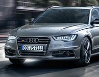 Audi S6 Avant - CGI