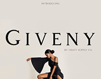 Giveny - Classy Serif Font (Free Download)