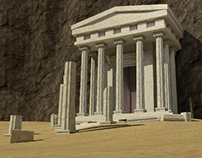 Ancient greek entrance & corridors
